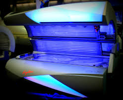 Sunboard Tanning Bed by Ergoline Affinity 800 We Love This Bed U0027s Color Matched Mood