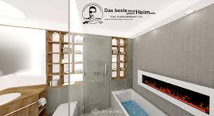 innenliegendes bad ohne fenster mit vielen spiegeln