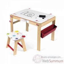 bureau tableau bureau tableau 2 en 1 splash janod dans jouets en bois janod sur