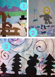 Collection Of Winter Art Projects