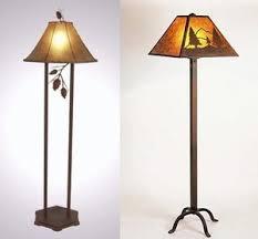 Rustic Lodge Floor Lamps Lamp Qsrjnhv