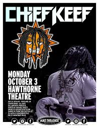 Chief Keef Halloween by Chief Keef At Hawthorne Theatre In Portland Or On Mon Oct 3 8
