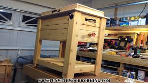 Instructions To Build A Toy Box by Project How To Make A Rustic Cedar Ice Chest Cooler Box Youtube