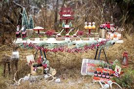 Rustic Plaid Christmas Party