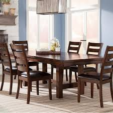 Intercon Kona Trestle Dining Table With Leaf