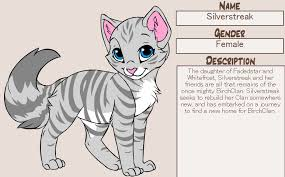 cat creator silverstreak by prin pardus on deviantart