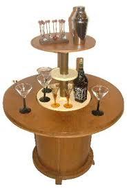 deco pop up cocktail bar table deco