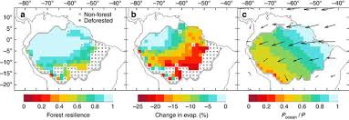 amazonia si e social self lified amazon forest loss due to vegetation atmosphere