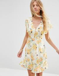 Floral Print Dress ASOS