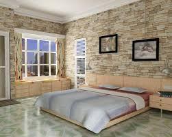 Luxury Bedroom Design With Beautiful Wall Stone Marble Floor