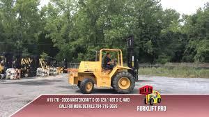 2006 Master Craft C-06 - The Forklift Pro - YouTube