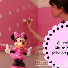 chambre minnie mouse 14 best chambre minnie mouse images on baby polka dot