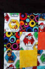 Fleece Backed Patchwork Paw Patrol Baby Blanket, Toddler Blanket ... Fabric For Boys At Fabriccom Firehouse Friends Engine No 9 Cream From Fabricdotcom Designed By Amazoncom Despicable Me Minion Anti Pill Premium Fleece 60 Crafty Cuts 15 Yards Princess Blossom We Cannot Forget Our Monster Truck Fabric Showing The F150 As It Windham Designer Fabrics Creativity Kids Deluxe Easy Weave Blanket Ford Mustang Fleece Fabric Blanket