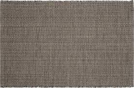 tapis coton tisse a plat gilmore tapis tissé plat 60x90cm en coton gris foncé habitat