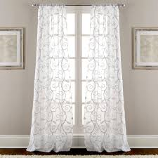 Set Of 4 Floral Door Curtains Pick Any 1