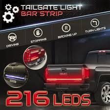 60 Universal Pick Up LED Light Bar Strip Truck Tailgate Turn Signal ... Access Aa Battery Led Truck Bed Light Installation Youtube Amazoncom Vsek Auto Tailgate Bar Led Tail Strip Evo Formance Siwinder Aftermarket Accsories Powered Strips Kit Single Color 2 Portable Motorcycle Multi 3 Size Fxible With 48 Redwhite Reverse Stop Turn 22 12v Rgb Smd Blue Scanning Remote Stopbrake For Ford F150 Where To Buy White Light Strips For Cars Truck Led Lights Bar X 60 180 Super Bright Ledonlinenadaca