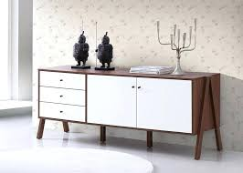Wooden Sideboard Furniture Amazon Studios Mid Century Modern Sideboards Style Wood White And Walnut Buffets Small Dining Room Buffet