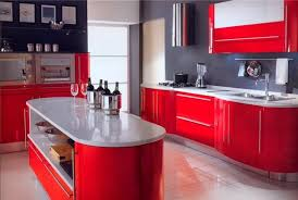 If You Have A Big Kitchen There Are No Limitations In Color Choice Red Walls Will Visually Make Your Look Smaller But Be Careful And Draw