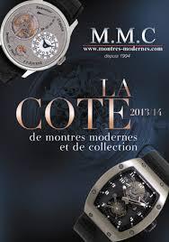 montre moderne et collection montres modernes collection m m c la cote de montres modernes et