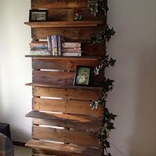 Its Easy To Create Pallet Wood Shelves Ideas