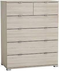 kommode laika shannon eiche grau kinderzimmer jugendzimmer schlafzimmer anrichte schrank sideboard schubladenkommode aufbewahrung