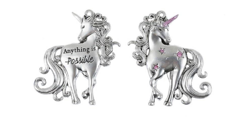 Ganz I Believe in Unicorns Token Pocket Charm - Magical Unicorn (Anything Is Possible)