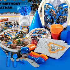 Check Out Our Monster Jam Deluxe Party Pack For All The Items You ... Monster Truck Birthday Party 131430 Supplies Elegant Decorations Jam 3d Paper Hats This Started Monster Truck Backdrop 9 Oz Cups 8 Top Popular 72076 Canada Open A Terbaru 2017 Tondeusebarbefrinfo Real Parties Modern Hostess Youtube Dessert Plates Halloween Ideas 2018 Birthdayexpress Dinner Plate 24