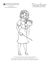 Coloring Pages Printable Images Gallery For Teachers Illustration Cartoon Pictures Female Printabel School Thanksgiving Free