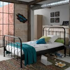 schlafzimmer bett ellis in schwarz