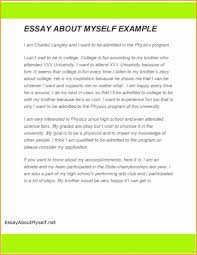 Describe Yourself In Resume Sample Elegant Unusual How Toe Example Essay Examples To