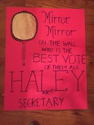 Student Council Election Poster Ideas My Daughter Made This She Did A Great Job