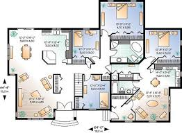 Of Images American Home Plans Design by Plan 1225 3 Bedroom Level Home American Design Gallery