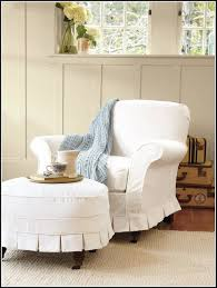 Parsons Chair Slipcovers Shabby Chic by 15 Photos Pottery Barn Chair Slipcovers