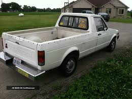 100 Rabbit Truck 1980 Volkswagen Diesel Caddy Pickup
