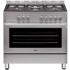 cuisine gaz cuisinière 5 feux gaz sauter scm 1090 x prix promo la maison de