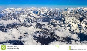 mountain ranges of himalayas himalaya everest mountain range panorama stock photo image 31531164