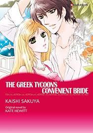 Download THE GREEK TYCOONS CONVENIENT BRIDE Harlequin Comics Book Pdf