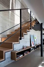 beton cire sur escalier bois escalier en bois deco design plaquage boid sol beton cire