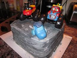 100 Monster Truck Mater Lightening Mcqueen CakeCentralcom
