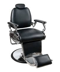 Fully Reclining Barber Chair by Jeffco 707 Jaguar Barber Chair