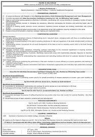 Sample Resume For Bank Jobs Freshers