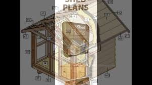 8x12 Storage Shed Ideas by Shed Plans 8x12 Youtube