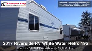 2017 Riverside RV White Water Retro 195 Video Walkthrough