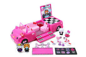 Hello Kitty Bathroom Set At Target by Amazon Com Hello Kitty Dance Party Limo Playset Toys U0026 Games
