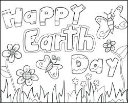 Happy Earth Day Greeting Cards Coloring Picture Kids Pages Printable For Adults Free Sheets Kindergarten