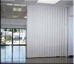 acoustic folding partitions curtitions