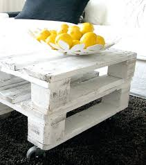 Crate Coffee Table Ideal For Living Room Wooden