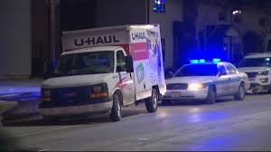 Cops Chase U-Haul Truck From Portage To Chicago - NBC Chicago Uhaul Truck Rental Reviews The Evolution Of Trailers My Storymy Story How To Choose The Right Size Moving Insider Business Spotlight Company Moves Residents From Old Homemade Rv Converted Garage Doors Marietta Ga Box Roll Up Door Trucks U Haul Stock Photos Images Alamy About Uhaultipsfordoityouelfmovers Dealer Hobart Lumber Celebrates 100 Years