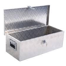 100 Pick Up Truck Tool Box 30L Aluminum Up Bed Trailer ATV Tongue Lockable