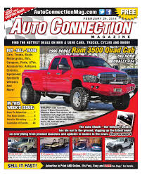 02-24-16 Auto Connection Magazine By Auto Connection Magazine - Issuu Tuning Essentials Trucks 3 Gearshop By Pasmag Custom Classic Magazine Home Facebook News Covers Street Ud Connect November 2018 Pdf Free Download Digital Issues Guns Media 10 Best Used Diesel And Cars Power For Renault Cporate Press Releases Customer February 2017 Battle Sted Tony Scalicis Mini Truckin At Truck Trend Network 1961 Ford F100 Unibody Truck Magazine Cover Luke